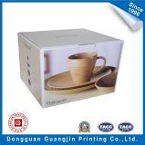 Rectángulo plegable acanalado de papel para el empaquetado de cerámica de la taza