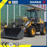 Maquinaria de construcción Xd926g cargador de 2 toneladas