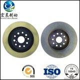 Performance ISO9001 de disques de frein d'OEM haute