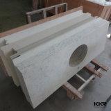 Controsoffitto di pietra di marmo artificiale della cucina della pietra del quarzo