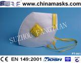 Лицевой щиток гермошлема устранимого респиратора от пыли Non-Woven с CE