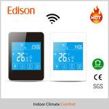 LCDのタッチ画面の暖房のサーモスタット