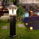 Lámpara al aire libre del césped del jardín de la lámpara del jardín
