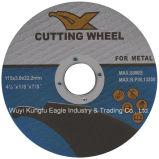 4.5 '' discos para corte de metales abrasivos de 115X3.0X22.2 milímetro T41 con MPa En-12413