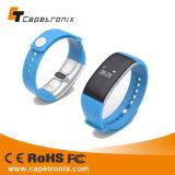 Cámara alejada Bluetooth Smartbracelet de la venda de China del ritmo cardíaco del monitor del Wristband del perseguidor elegante al por mayor de la aptitud para el IOS androide