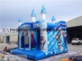 Aufblasbares gefrorenes Karikatur-springendes Schloss für Miete
