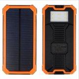 강한 LED 빛에 방수 12000mAh 실리콘 태양 에너지 은행