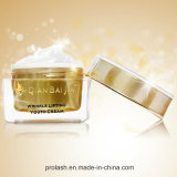 Cuidado de piel orgánico natural que blanquea la crema de elevación de la juventud de la arruga