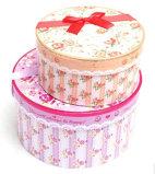 Esteiras roxas da fibrina da venda por atacado profissional do fabricante de OEM/ODM dentro da caixa de presente da flor do cartão