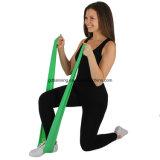 Estiramento da resistência do exercício que estica a correia & a faixa física de Thera