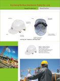 建設作業員のためのセリウムEn 397 ABS/PEのヘルメットの安全ヘルメット、採鉱のヘルメット、企業、PPEの安全設備の標準6ポイント安全ヘルメット(HLNA-1)
