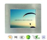 """10.4 """" PC панели Fanless промышленных с шатоном сплава Alumimun сенсорного экрана"""