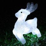 Luces solares al aire libre del adorno de la ardilla de la decoración LED del día de fiesta de la Navidad