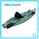De plastic Duidelijke Verkoop van de Kano van de Vissersboten van de Kajak Plastic