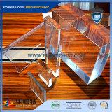 100% Lexan Transparent White Acrylic Sheet / PMMA pour Matériaux de Construction