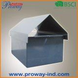 Rectángulo exterior del poste, caja, caja