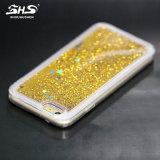 Schittert het Vloeibare Drijfzand van Shs het Geval van de Telefoon van de Ster TPU voor iPhone 6 plus