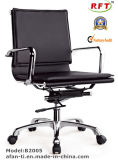 Chaise exécutive de bureau de loisirs de fer ergonomique moderne de cuir (RFT-A2005)