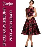 Vestido de la manera vestido de la mujer atractiva de vacaciones (L36110)