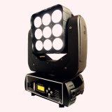 Bewegliches Hauptträger-Licht LED-9PCS*10W 4in1