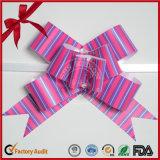 Смычок тесемки PP шнура тяги оборачивать подарка пурпуровый