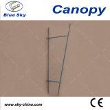 Pabellón al aire libre de la lluvia del policarbonato y del aluminio (B910)