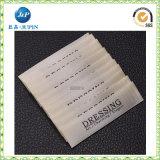 Het fabriek Aangepaste Etiket van het Kledingstuk van het Teken van het Merk, Geweven Etiket (JP-CL082)
