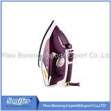 Ferro elettrico di viaggio del ferro di vapore Sf-9002 con il Soleplate di ceramica (viola)