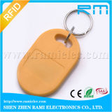125kHz/13.56MHzアクセス制御ドアエントリのための書き込み可能なRFIDの主札Keyfob