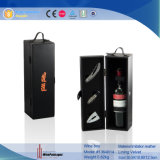 Custom Logo Single Bottle Wine Box com EVA (1364R13)