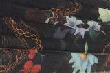Мягко и мозоль полиэфира пропускать напечатанная для ткани платья и шарфа