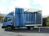 Le polyester a enduit le PVC en tant que bâche de protection de couverture de camion