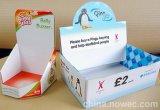 Cartão de papel personalizado em volta do preço de dobramento da caixa de cartão