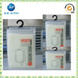 Saco plástico de embalagem impresso do Zipper para a roupa (JP-plastic023)