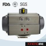 Valvola a sfera sanitaria pneumatica di ritegno dell'acciaio inossidabile non (JN-BLV2006)