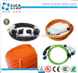 TPE Insulation EV Orange Cable per Car Charging