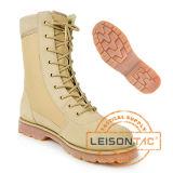 革靴のスリップ防止およびAnti-Abrasion完全なグレーンレザーの戦術的なブート