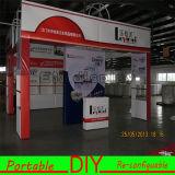 Cabine de alumínio reusável portátil modular da exposição dos sistemas de indicador de DIY