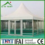 Cubierta de aluminio al aire libre de la pagoda del hexágono 5X5m de la venta para la venta