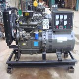 Cummins Engine 80kw 100kVA 6bt5.9-G1 abre o tipo gerador Diesel marinho com controlador do alto mar