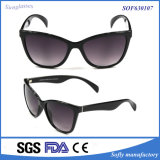 Frauen Black Cat Eye Polarized Sunglasses mit UV400