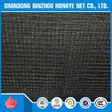Compensation matérielle neuve tricotée par fil rond de saletés de construction de HDPE