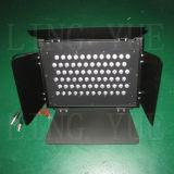72X3w 동위는 알루미늄 단면도 LED 스튜디오 점화 할 수 있다