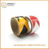 Flama amarela de prata clara elevada - fita de advertência da tela reflexiva retardadora