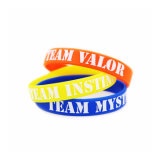 Venda por atacado Pesonalizd Fashion Multicolored Promotional Durable Silicone Bracelet