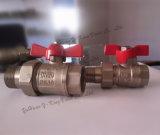 Válvula de bola de latón con certificado CE