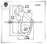 La goccia ha forgiato i grandi doppi ami del metallo dell'armatura di azione (G9150)