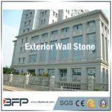 Mattonelle naturali della parete del granito, mattonelle della facciata, mattonelle del rivestimento della pietra della parete esterna