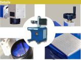 Faser-Laser Marking Machine für Watch Back Lids Metal und Hard Plastic