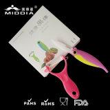Керамический складывая комплект ножа & Peeler, комплект инструмента ножа плодоовощ